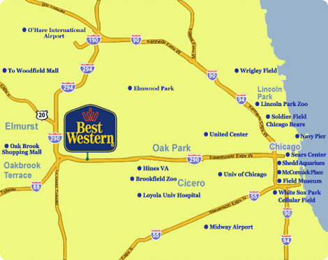 Chicago O Hare Airport Hotels With Shuttle Best Western